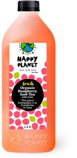 Happy Planet Launches New Fresh Organic Raspberry Iced Tea - Refreshing taste and more goodness for consumers