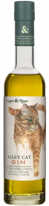 "Copper & Kings American Brandy Co. launches ""Alley Cat"" bourbon barrel aged gin"