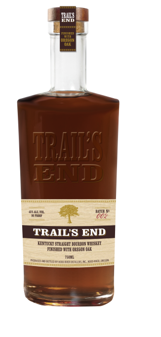 OREGON'S AWARD-WINNING TRAIL'S END® BOURBON WHISKEY EXPANDS NATIONALLY