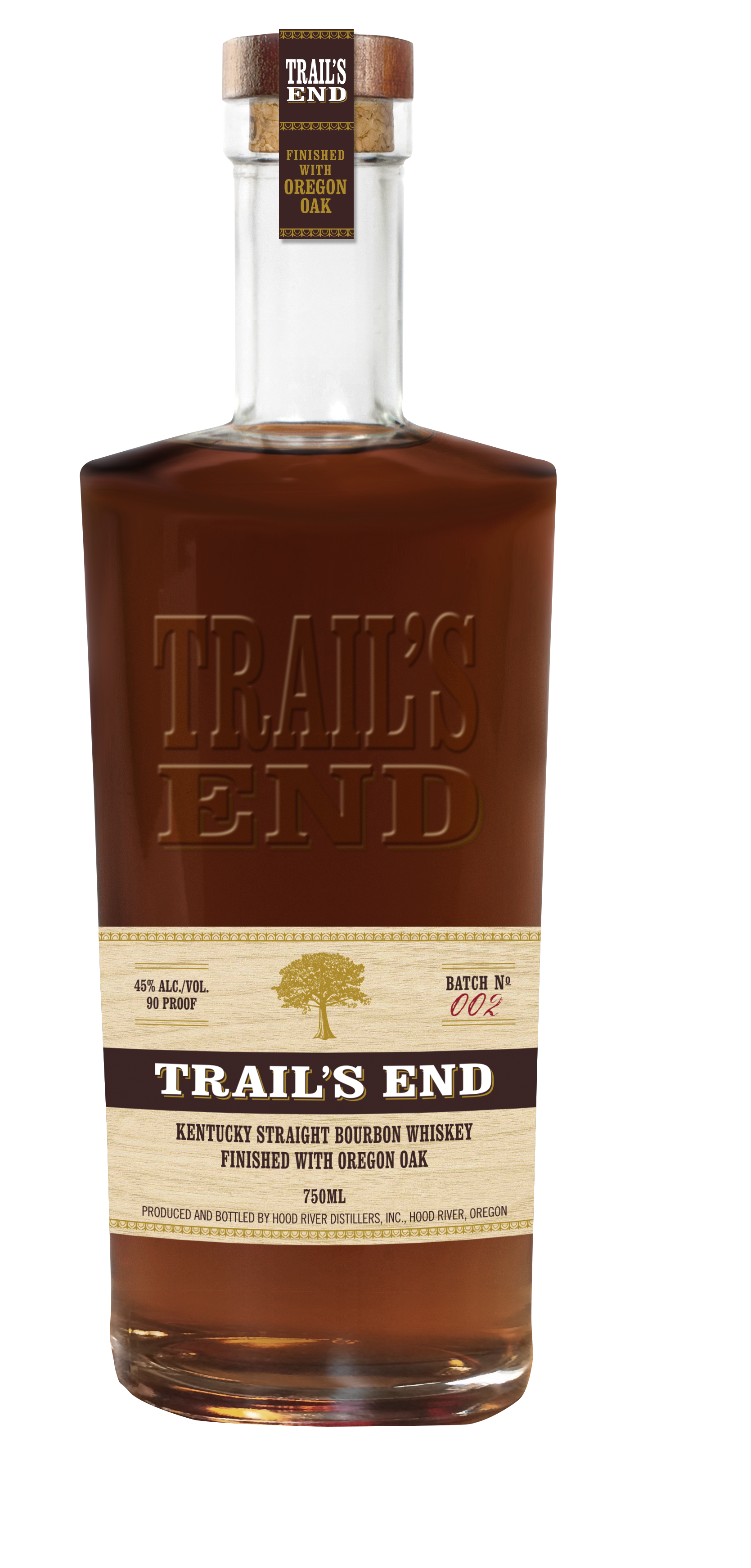 Hood river distillers expands distribution of trail 39 s end for Kentucky craft bourbon trail