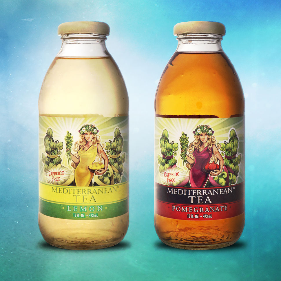 "Mediterranean Tea Bottles Up ""Mountain Tea"""