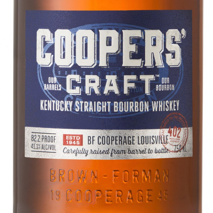 Brown forman launches coopers 39 craft bourbon for Coopers craft bourbon review