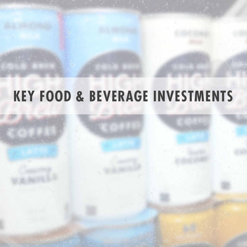 No Brakes on Food and Beverage Investment: Video