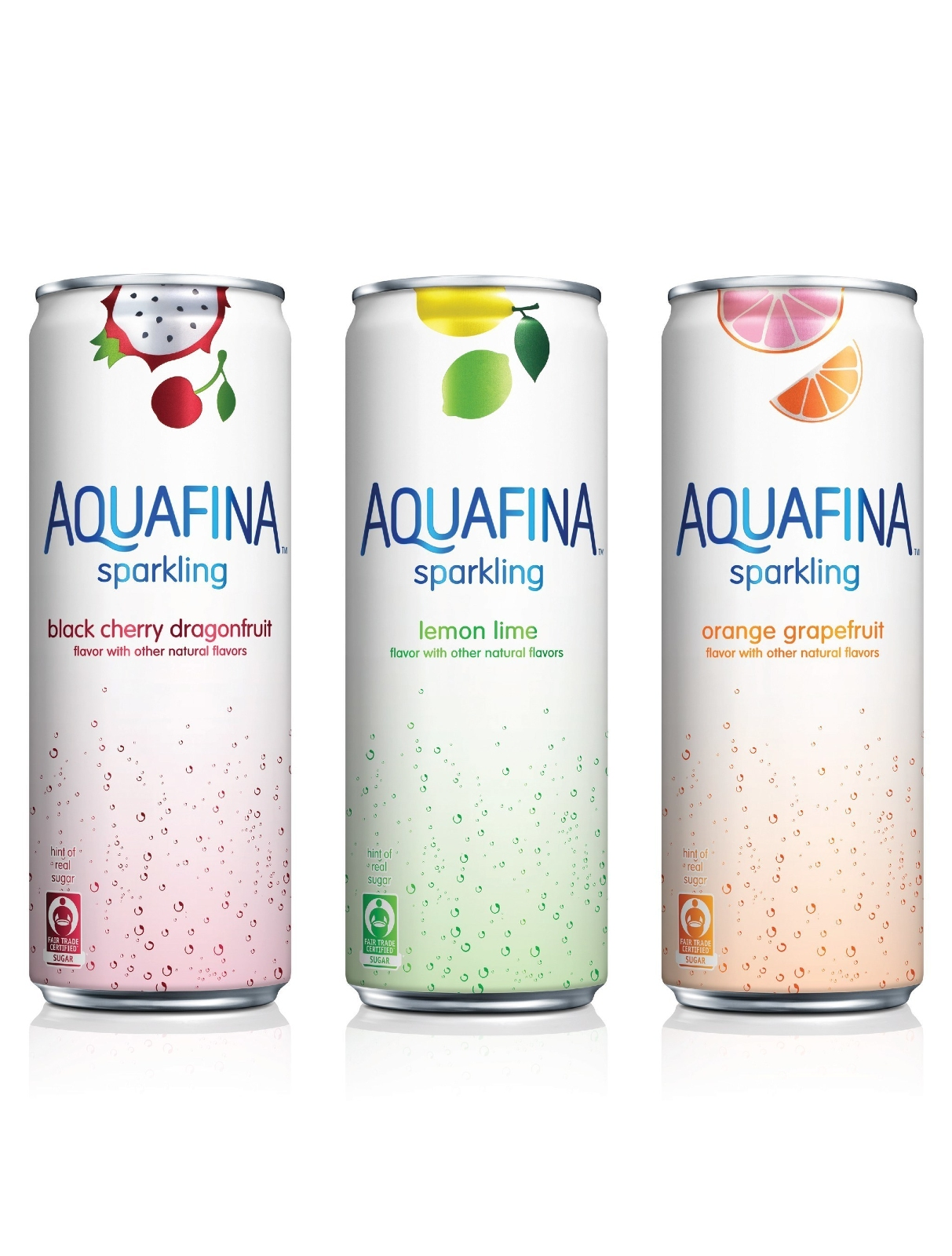 Sparkling New Year S Eve Nails Tutorial: Aquafina Unveils New Line Of Flavored Sparkling Waters