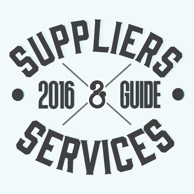 2016 Suppliers & Services Guide