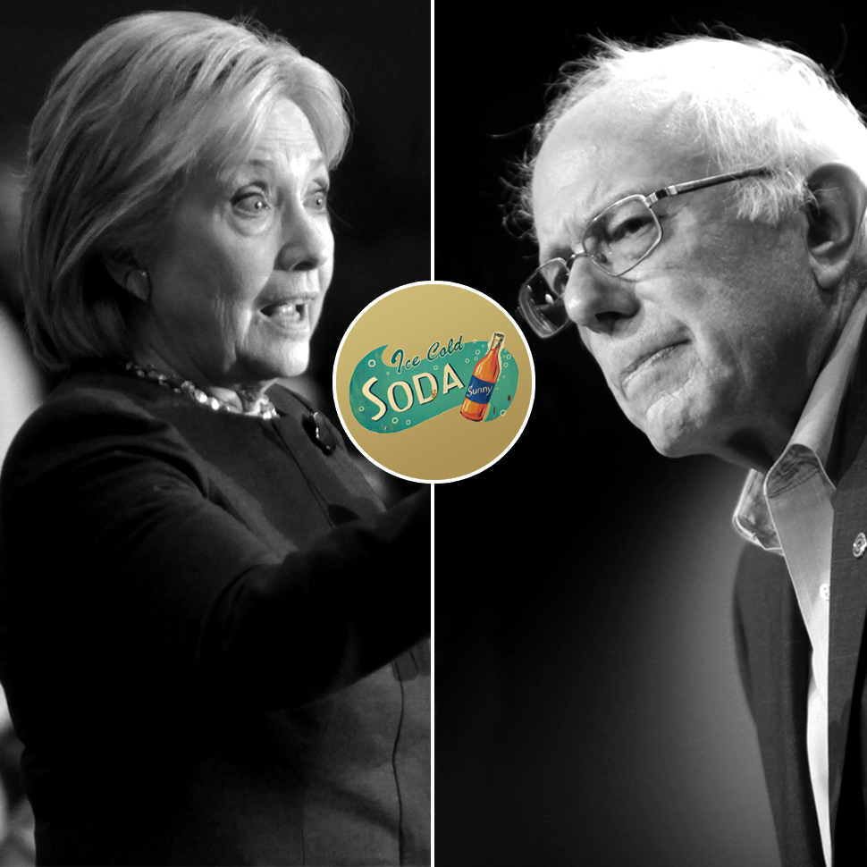 Press Clips: Hillary and Bernie Spar on Soda Tax; Coke Zero Gets a New Name in the U.K.