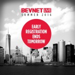 Early Registration for BevNET Live Summer 2016 Ends Tomorrow