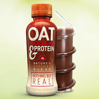 Nothing But Real Debuts Oat Chocolate Protein Drink