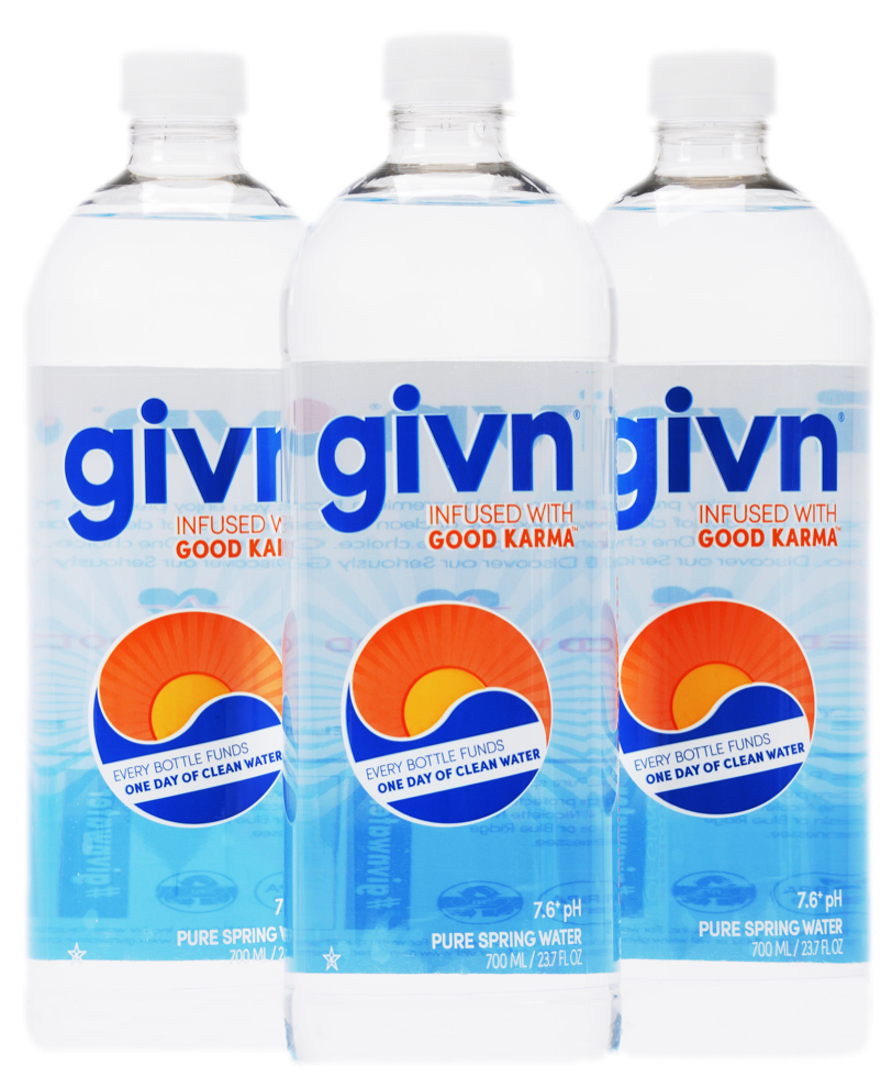 3c4c33331d Givn Water Now Available in Florida through Cavalier Distributing ...