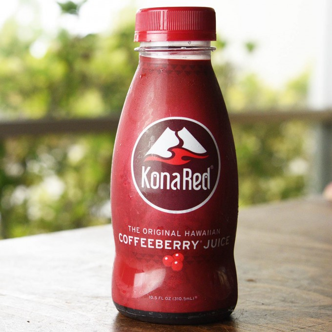 KonaRed Reveals New Label Design for its Juices