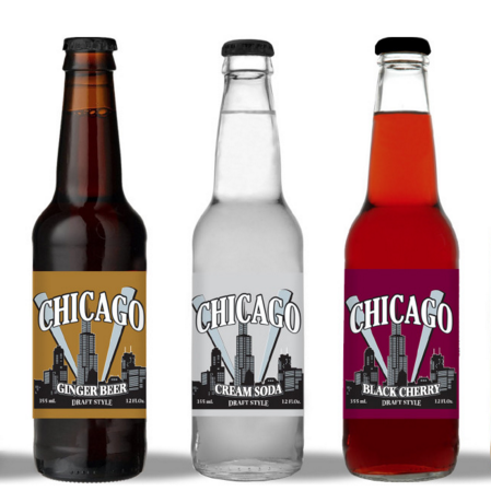 "Cool Mountain Beverages Launches ""Chicago Draft Style"" Line of Craft Sodas"
