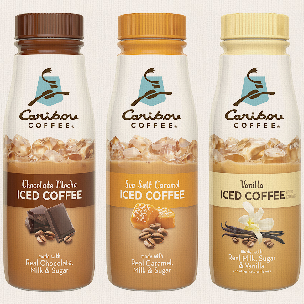 Caribou Coffee Launches Line of RTD Iced Coffees