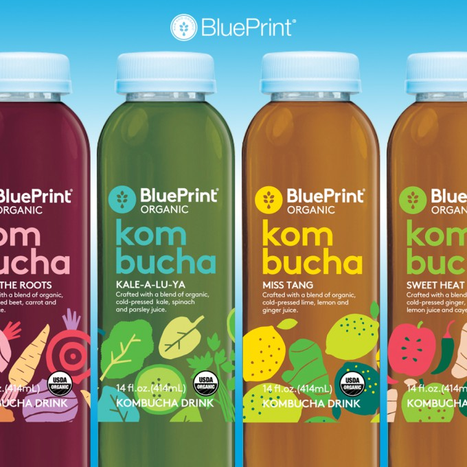 Blueprint organic kombucha bevnet product reviews bevnet malvernweather Image collections