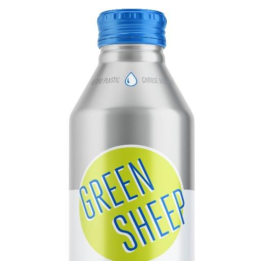 Green Sheep Water Launches New Label Design