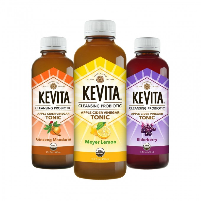 KeVita Adds Three New Flavors to its Line of Probiotic Apple Cider Vinegar Tonics
