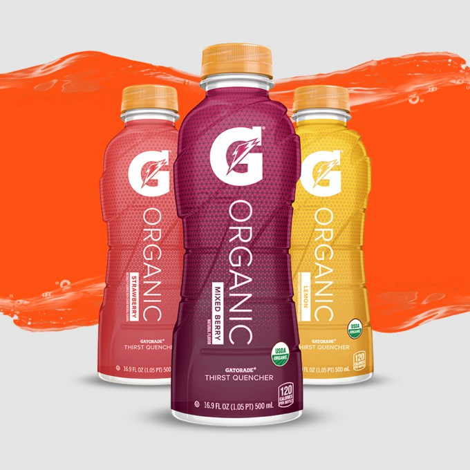 Gatorade Tries Better-For-You Once More, This Time With An Organic Line