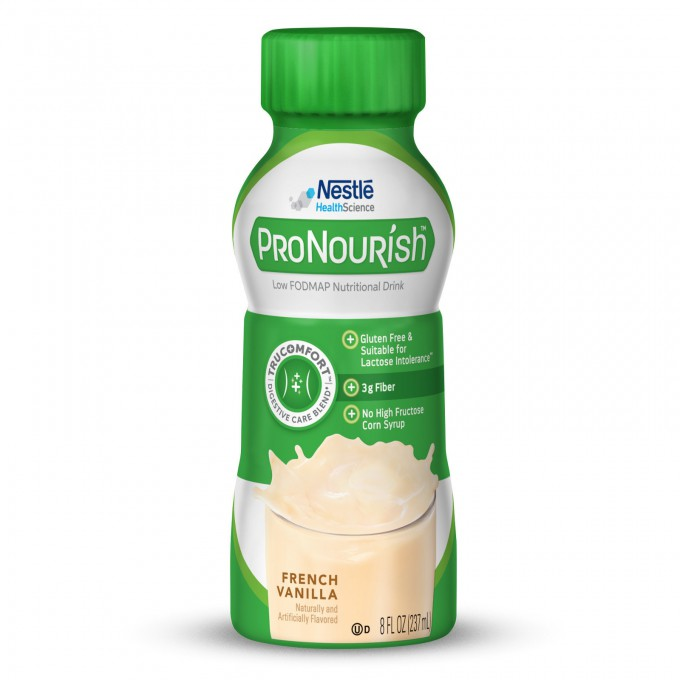 Nestlé Introduces ProNourish Drink For Low FODMAP Diets