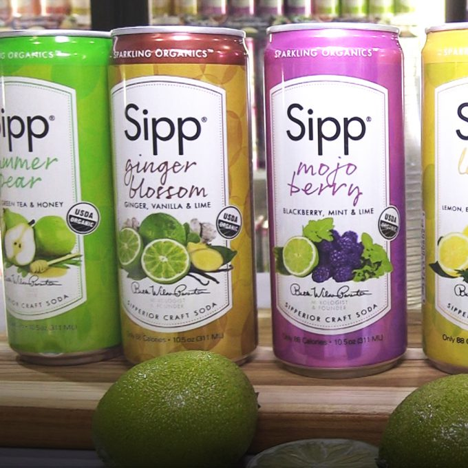 NACS 2016 Video: Slim Cans Position Sipp Sparkling Organics For C-Store Success