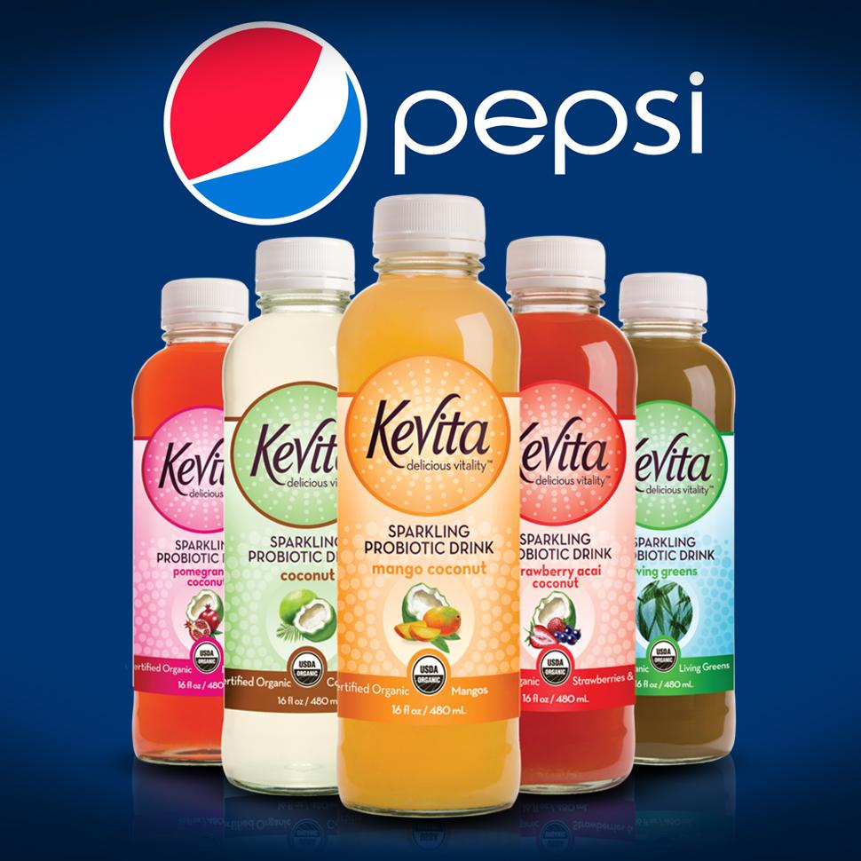 PepsiCo Acquires KeVita For Undisclosed Sum - BevNET com