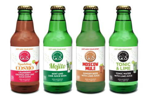 "GuS – Grown-up Soda Introduces One-Drink Sparkling Cocktail Mixers Line: ""Just Add Your Spirit"""