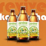 National Aspirations Behind Revive Kombucha's New Package Sizes, Updated Branding