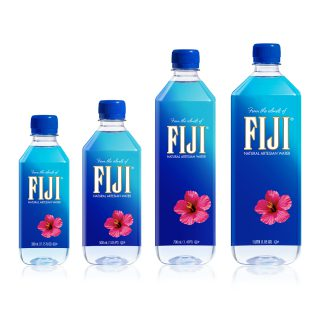 FIJI Water Redesigns Entire Portfolio With A Slim And Sleek Look