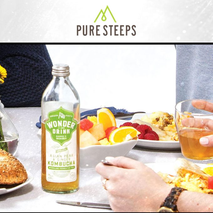Acquisition: First Secret Squirrel, Now Kombucha Wonder Drink for Pure Steeps