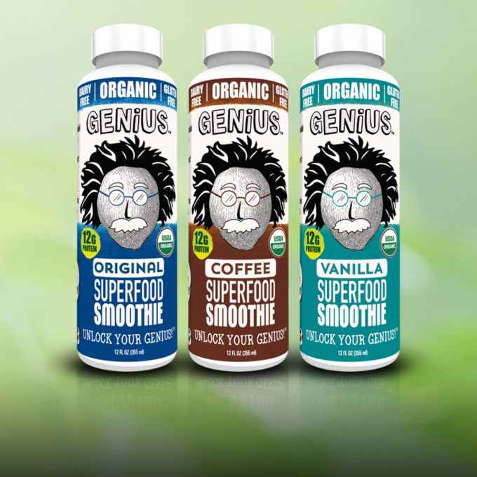 Genius Drops Coconut Smoothie for New Superfood Line