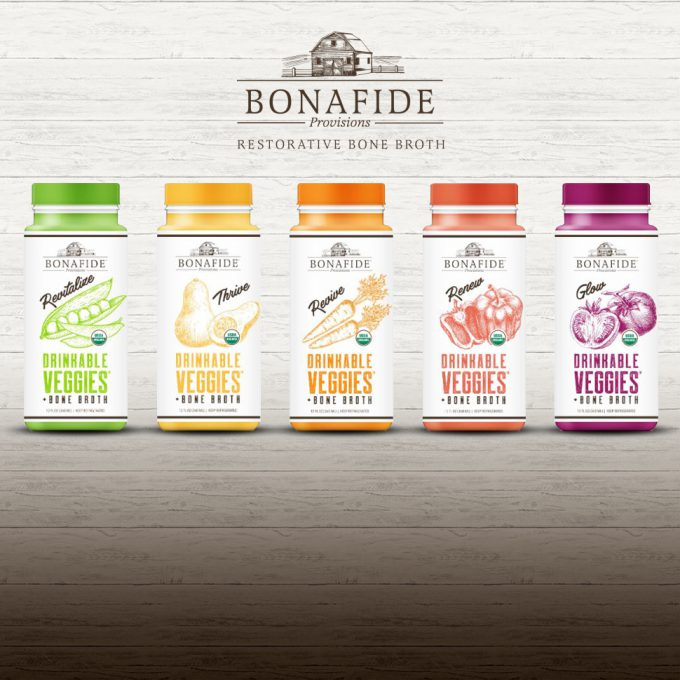 "Bonafide Launches ""Drinkable Veggies,"" RTD Made with Bone Broth"