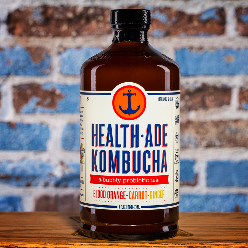 Review: Health-Ade Kombucha Blood Orange-Carrot-Ginger
