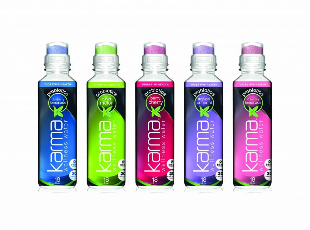 Karma Wellness Water Expands With Shelf Stable Probiotic
