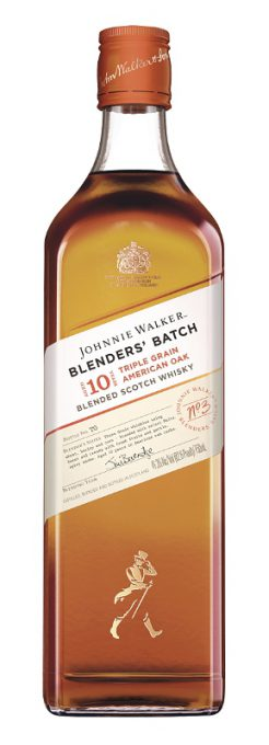 Johnnie Walker, the world's #1 selling blended Scotch whisky, launches new Blenders' Batch platform in the U.S with Triple Grain American Oak. (PRNewsFoto/Diageo)