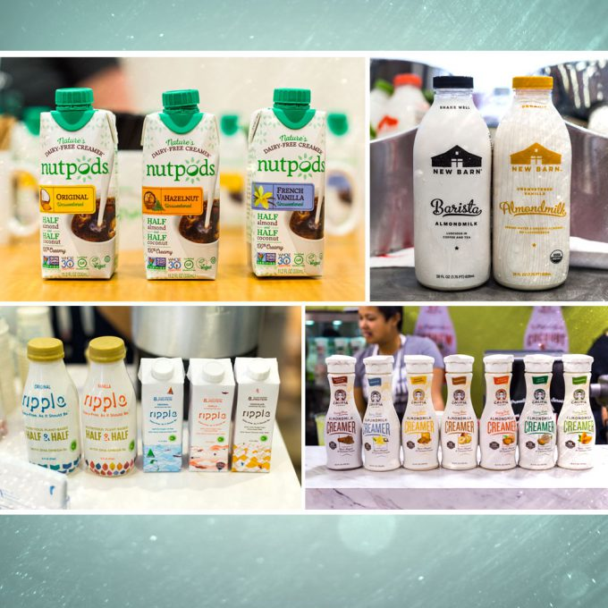 Expo West 2017: Dairy Alternative Brands Unleash Wave of New Creamers