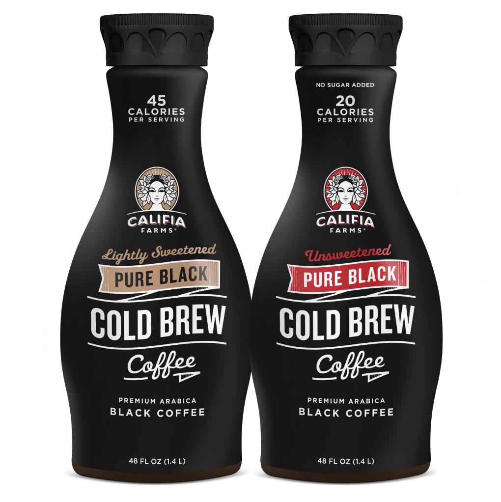 Califia Farms Launches Multi Serve Pure Black Cold Brew