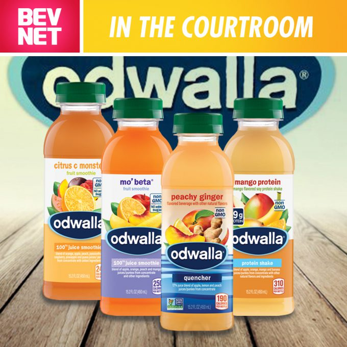 In the Courtroom: Odwalla Class Action Dropped