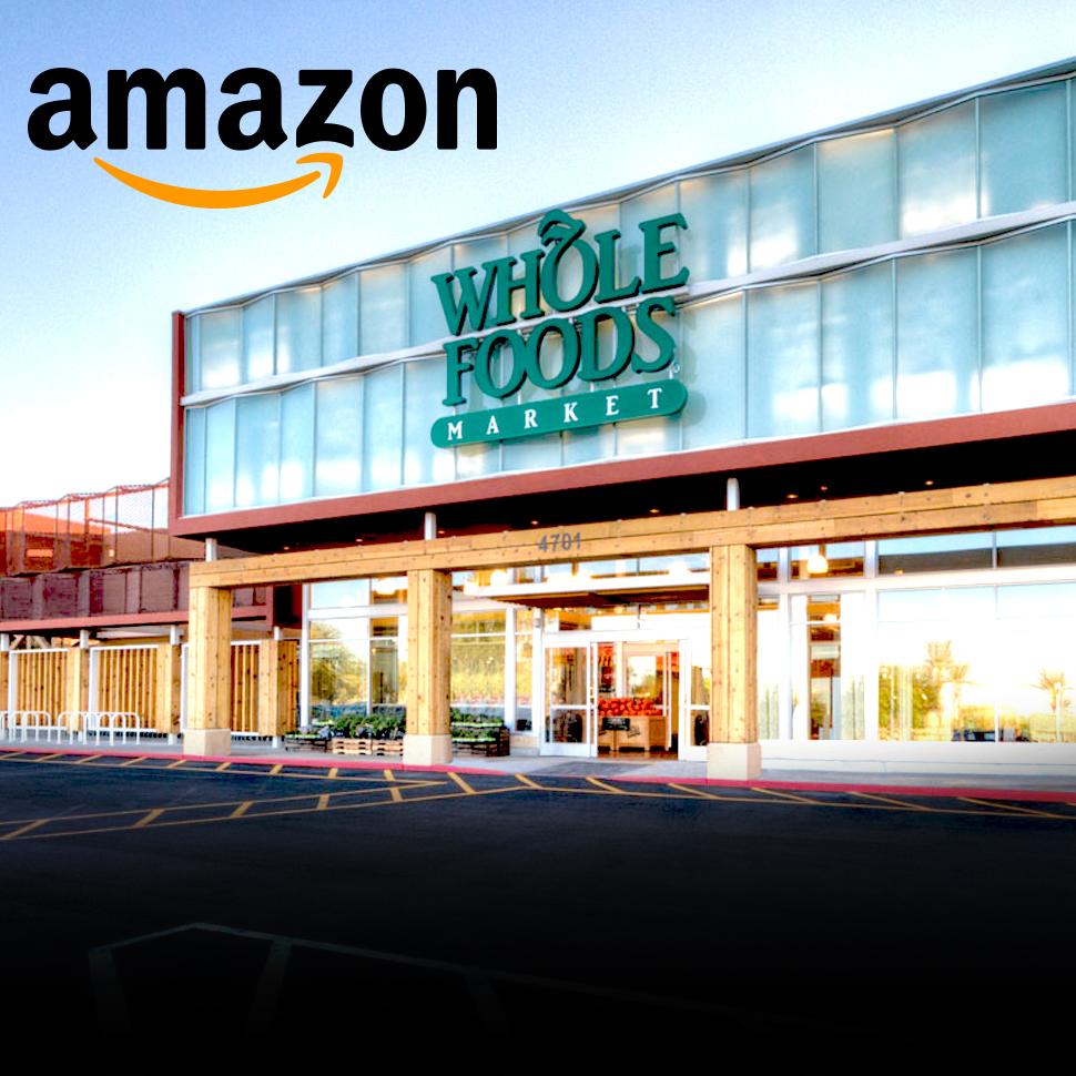 Amazon Announces Plans To Purchase Whole Foods