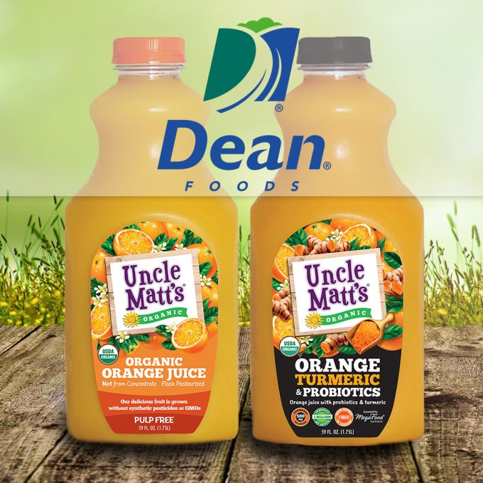 Dean Foods Acquires Uncle Matt's Organic