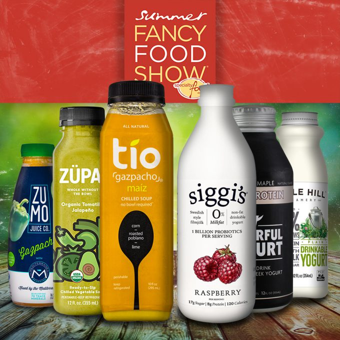 SFFS17: A Snackable Opportunity for Drinkable Soups, Yogurts
