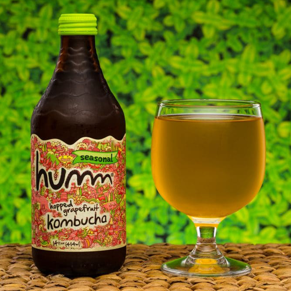 Humm Kombucha's Seasonal Hopped Grapefruit