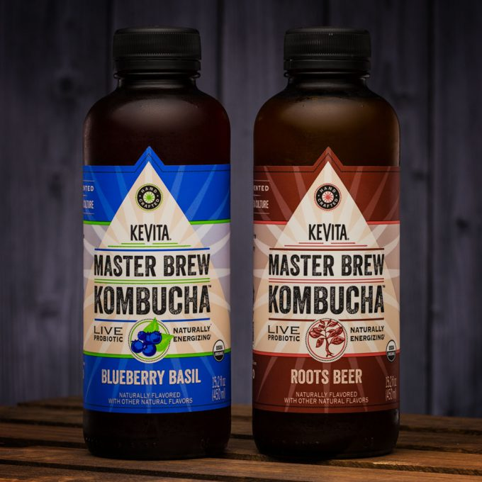 KeVita Introduces Blueberry Basil and Roots Beer Kombucha Flavors