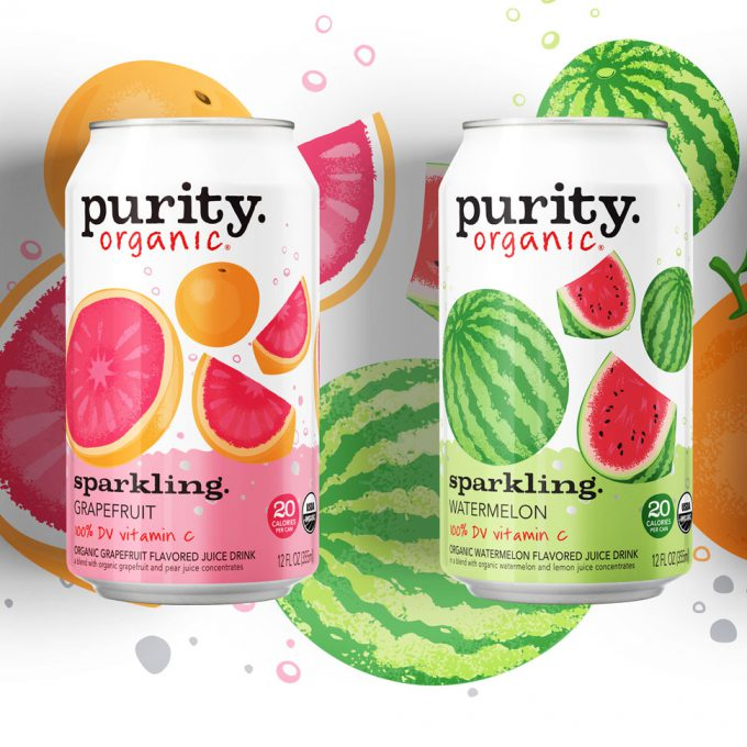 Purity Organic Launches Sparkling Line