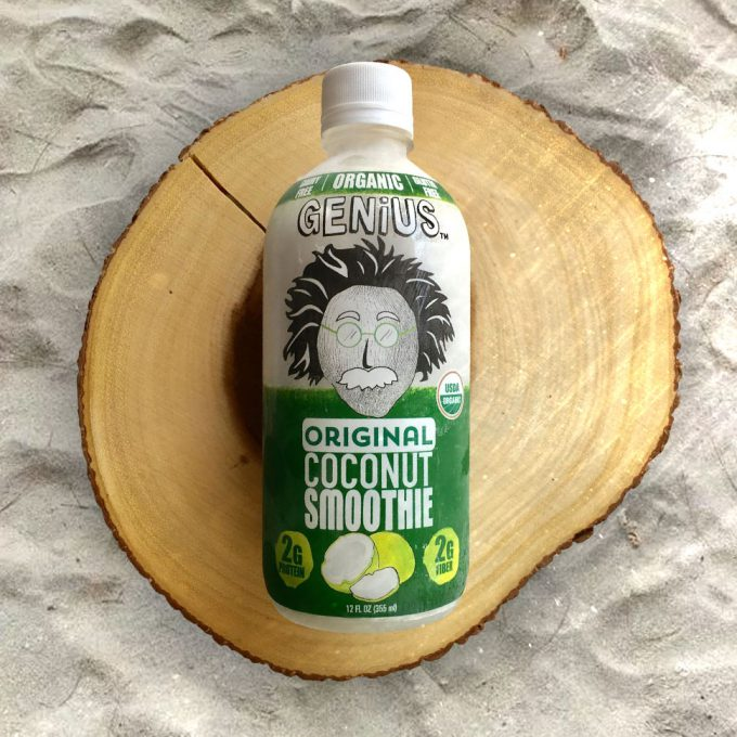 Genius Juice Relaunches Coconut Smoothie