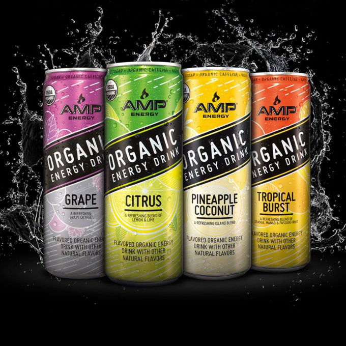Amp Energy Launches Organic Line