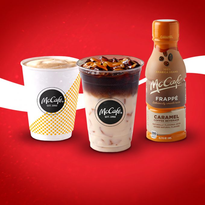 Coke and McDonald's Launch McCafé RTD Line