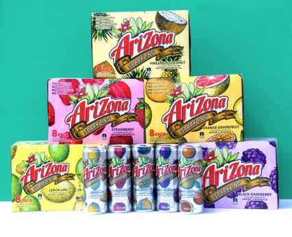 AriZona Gets Bubbly with Sparkling Mineral Water Line