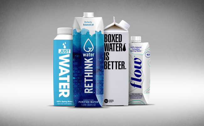 Carton Waters Take Different Routes to Growth - BevNET com