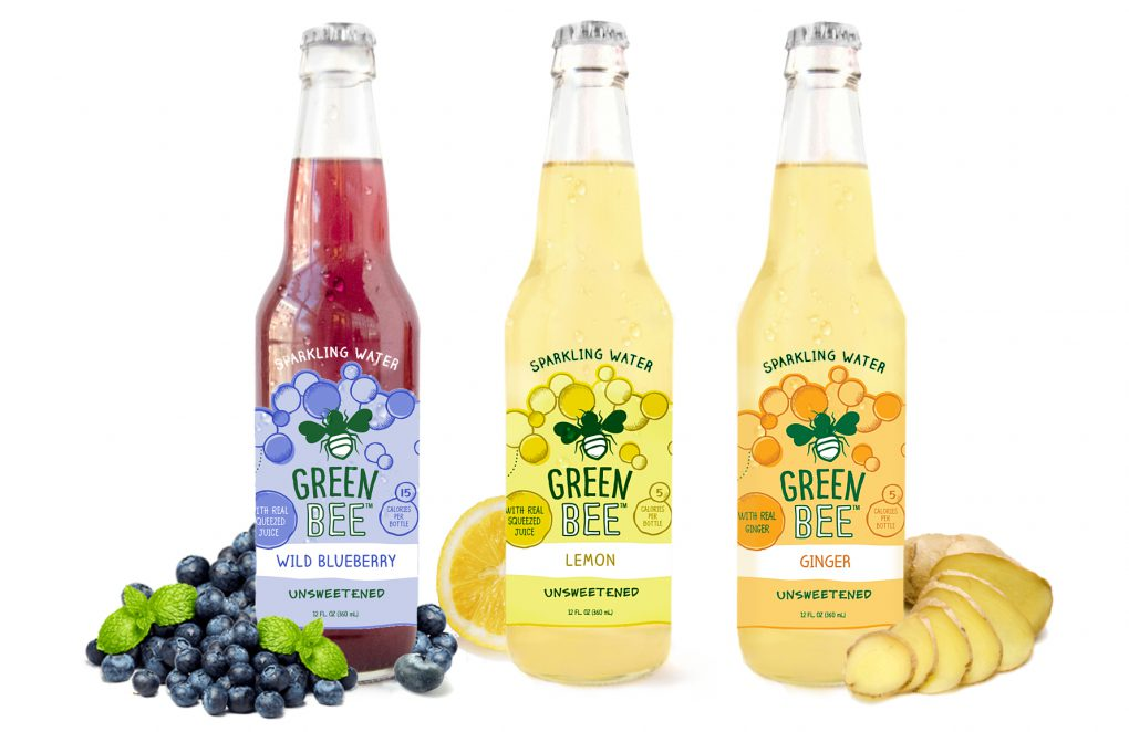 Green Bee Announces Launch of Sparkling Waters With Real Fresh Squeezed Juice