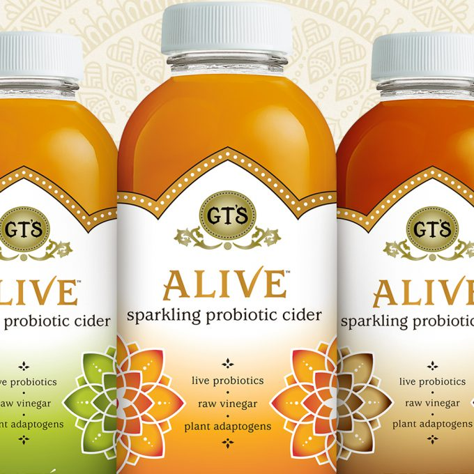GT's Launches Alive Probiotic Ciders Line