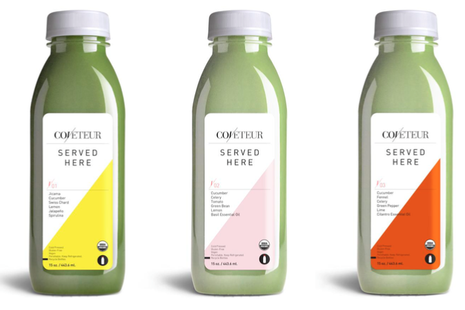 Coveteur and Juice Served Here Launch Line of Healthy Juices