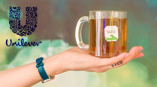Starbucks tanks on revenue miss, to sell Tazo tea brand to Unilever